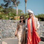 Indian groom's entrance in Tenerife
