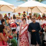 Indian bridal entrance in Tenerife