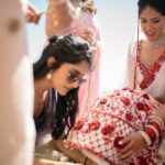 Indian wedding ceremony in Tenerife